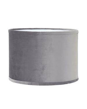 Stor sammetsskärm Sindy Silver