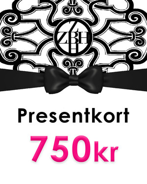 Presentkort 750kr