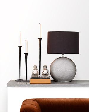 Lampa Steel inkl skärm