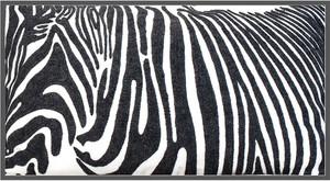 Kuddfodral Zebra
