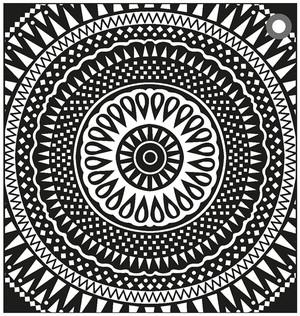 Kuddfodral Amulett Black