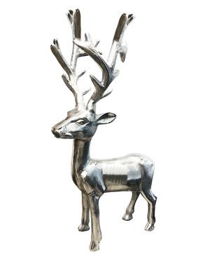 Standing Silver Deer