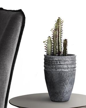 Kruka Cactus Antracit