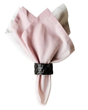 Servetter Malala rosa 4-pack