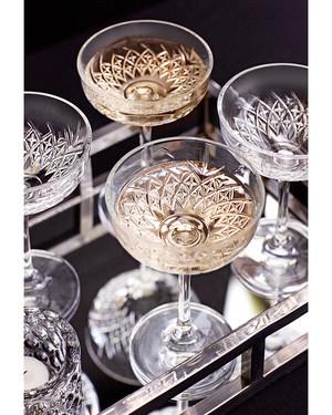 Champagneglas Southfork 4-pack