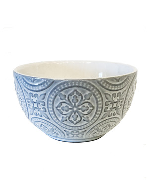 Ljusgrå skål Da Vinci