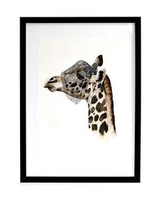 Tavla Elegant Giraff