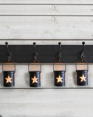 Ljushållare Estrella Noir 4-pack